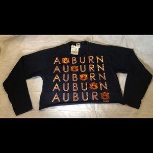 Auburn LONG SLEEVE CAMPUS CUTOUT TEE Pink by VS